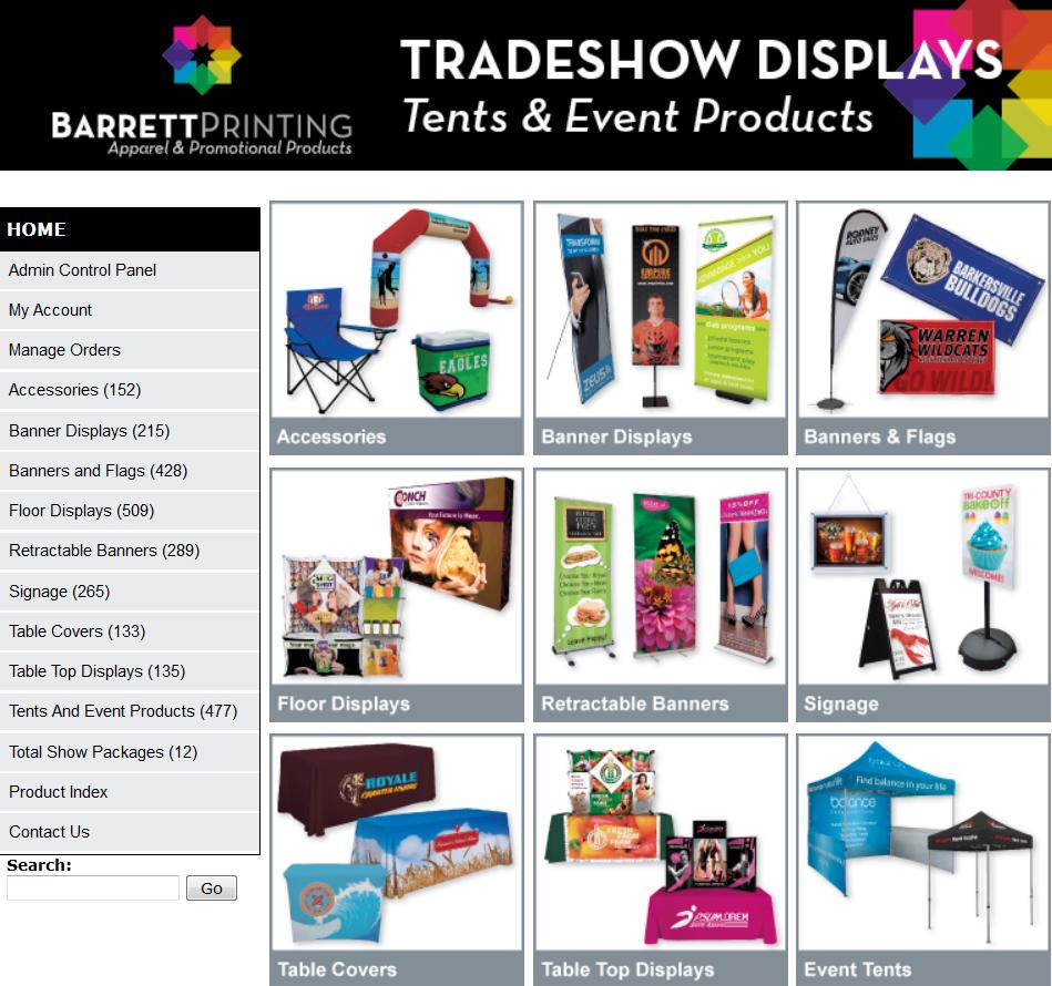 Tradeshow Website Image